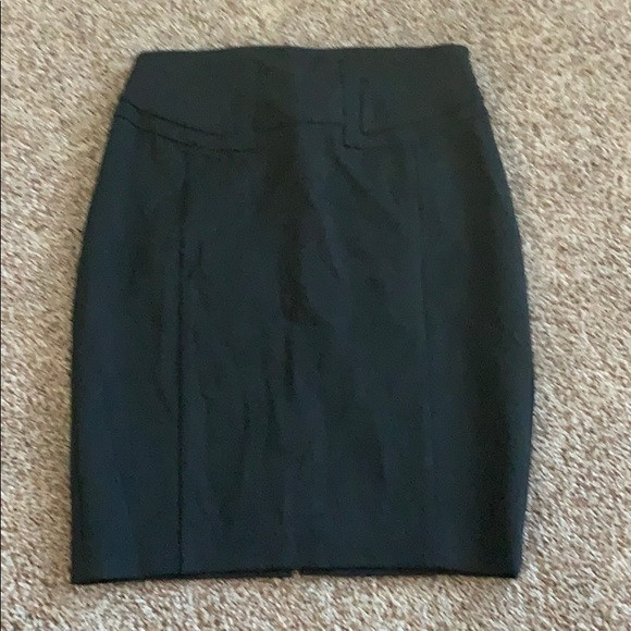 Express Dresses & Skirts - Dark gray high waisted skirt